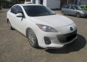 Mazda 3 2012 г. R4 1.6л. 105л.с.